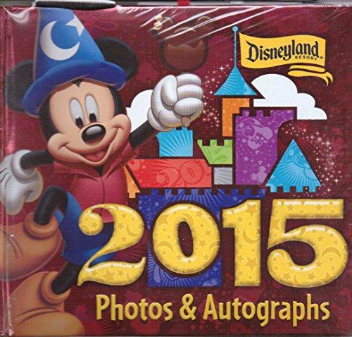 Albums Autograph Disney (Disneyland 2015 Photo Album Autograph Book with Pen)