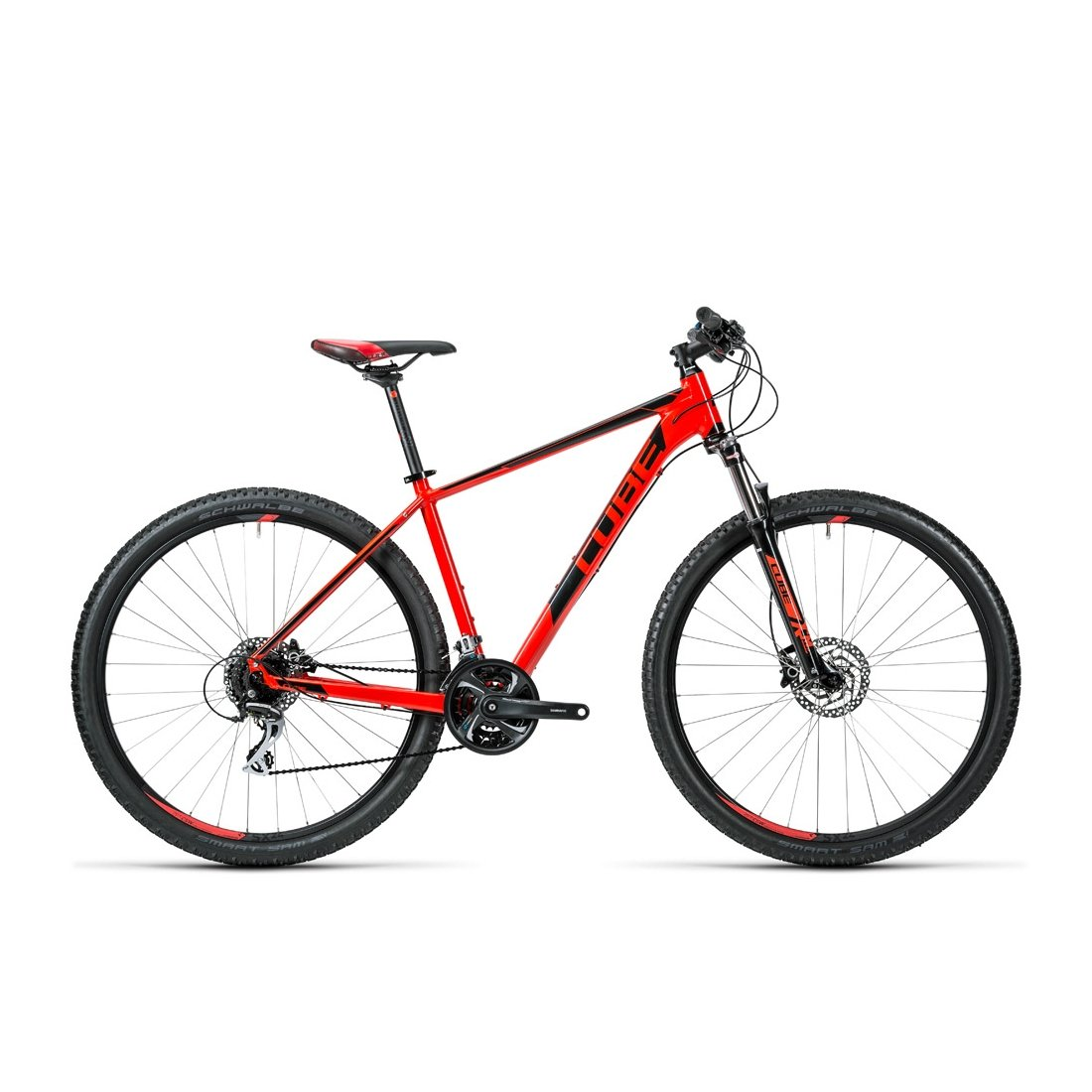 VTT CUBE Aim SL red nblack 2016-19 29