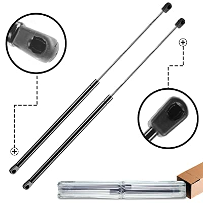 A-Preimum Rear Window Glass Lift Supports Shock Struts for Jeep Wrangler TJ 1997-2006 with Hardtop 2-PC Set: Automotive