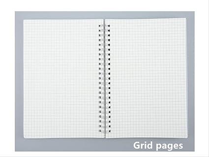 2 Piezas Bullet Journal A6 Notebook Pp Grid Dotted Dot Blank ...
