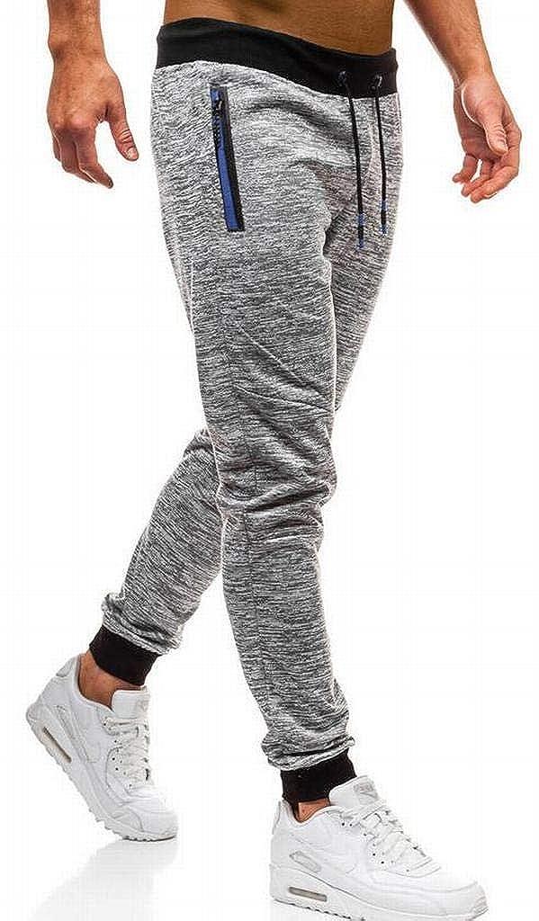 YYG Mens Sports Casual Drawstring Elastic Waisted Sweatpants Jogging Pants
