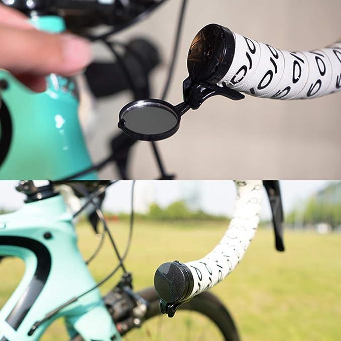 Profesional de la Bici del Espejo retrovisor de Aluminio de Ciclo ...