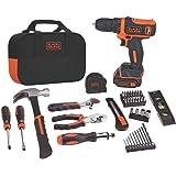 Black & Decker BDCDD12PK Drill Project Kit, 12V