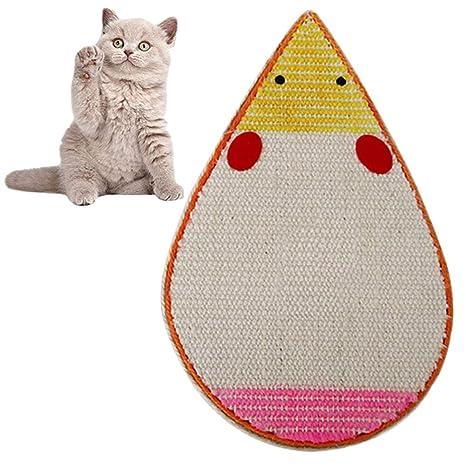 cuckoo-X - Alfombrilla de rascador para Gatos, diseño de ratón, cartón para