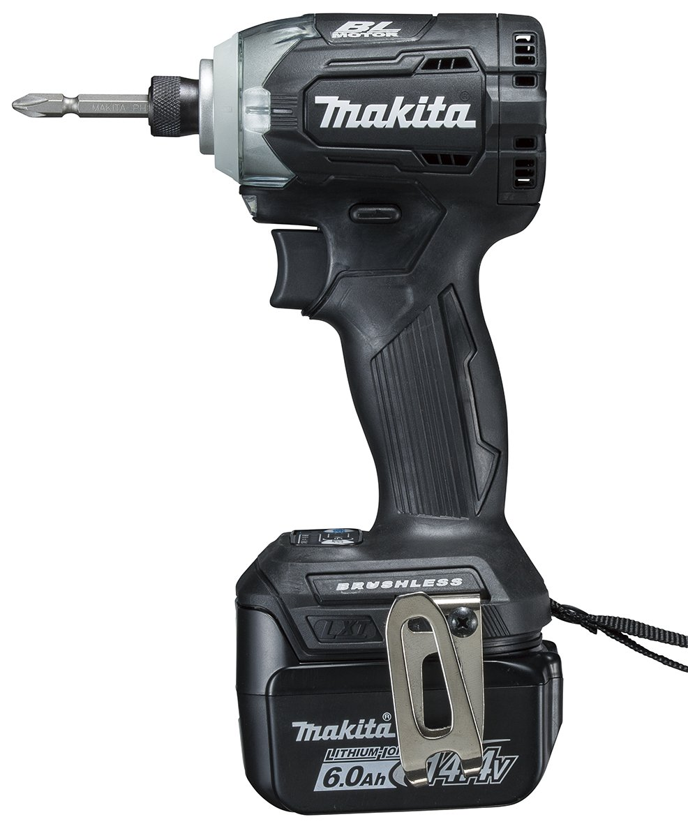 マキタ TD160DRGXB 充電式インパクトドライバ 黒 14V 6.0Ah B01BW8RO20  黒