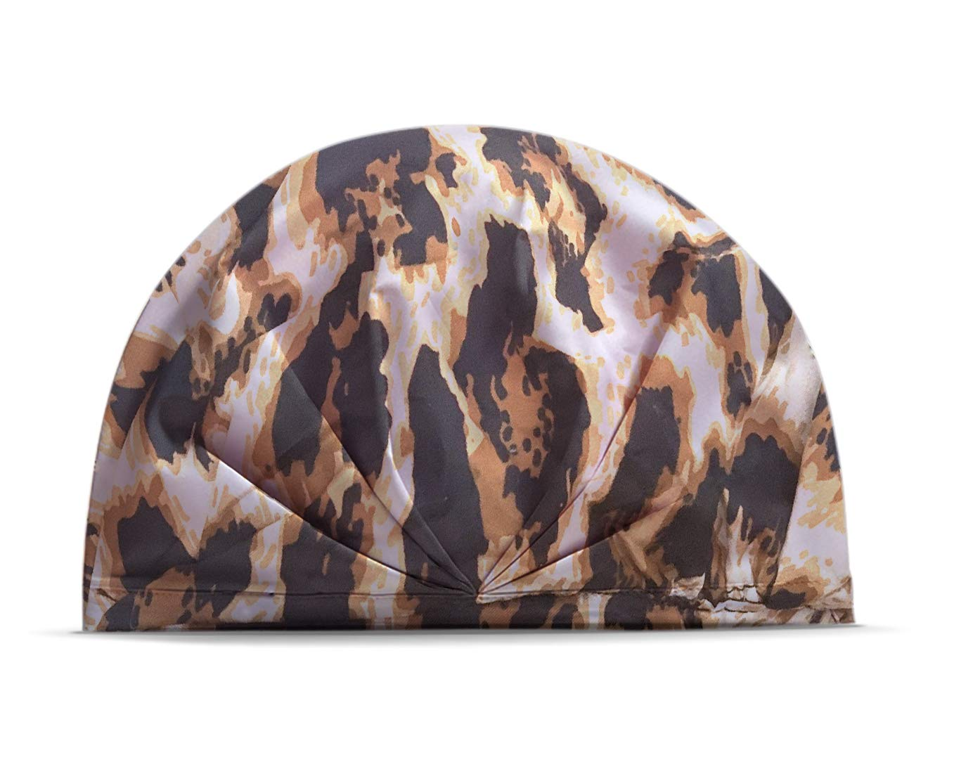 THE SUNNY FACTORY Shower Cap, Overnight Hair Treatment Mask Cap for Deep Conditioning, Thermal Heat Cap − Steaming Haircare Therapy, Oil Treatments, Hair Mask Therapy − Waterproof, Reusable (Leopard)