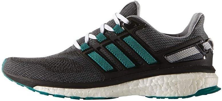 adidas Energy Boost 3 M, Zapatillas de Deporte para Hombre, Gris/Verde/Negro (Gris/Eqtver/Negbas), 40 2/3 EU: Amazon.es: Deportes y aire libre