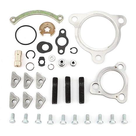 Turbocompresor Turbo Cargador Kit de reparación para reconstrucción de juntas y juego de tornillos Turbo Vehículos