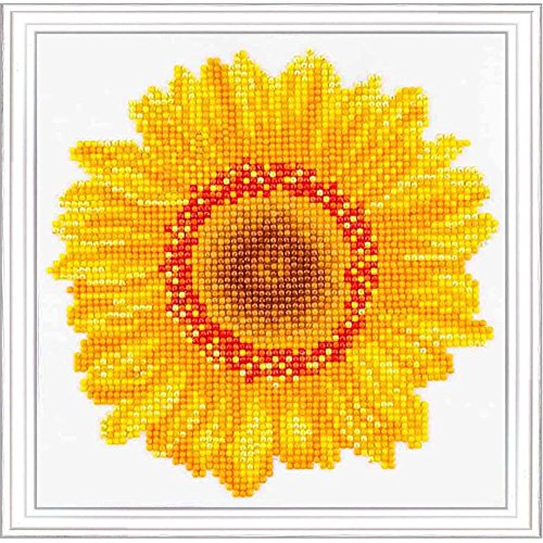 Needleart World Happy Day Sunflower Diamond Embroidery Kit