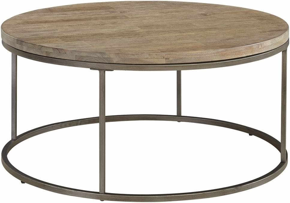 Casana Furniture Company Alana Round Coffee Table with Acacia Wood Top