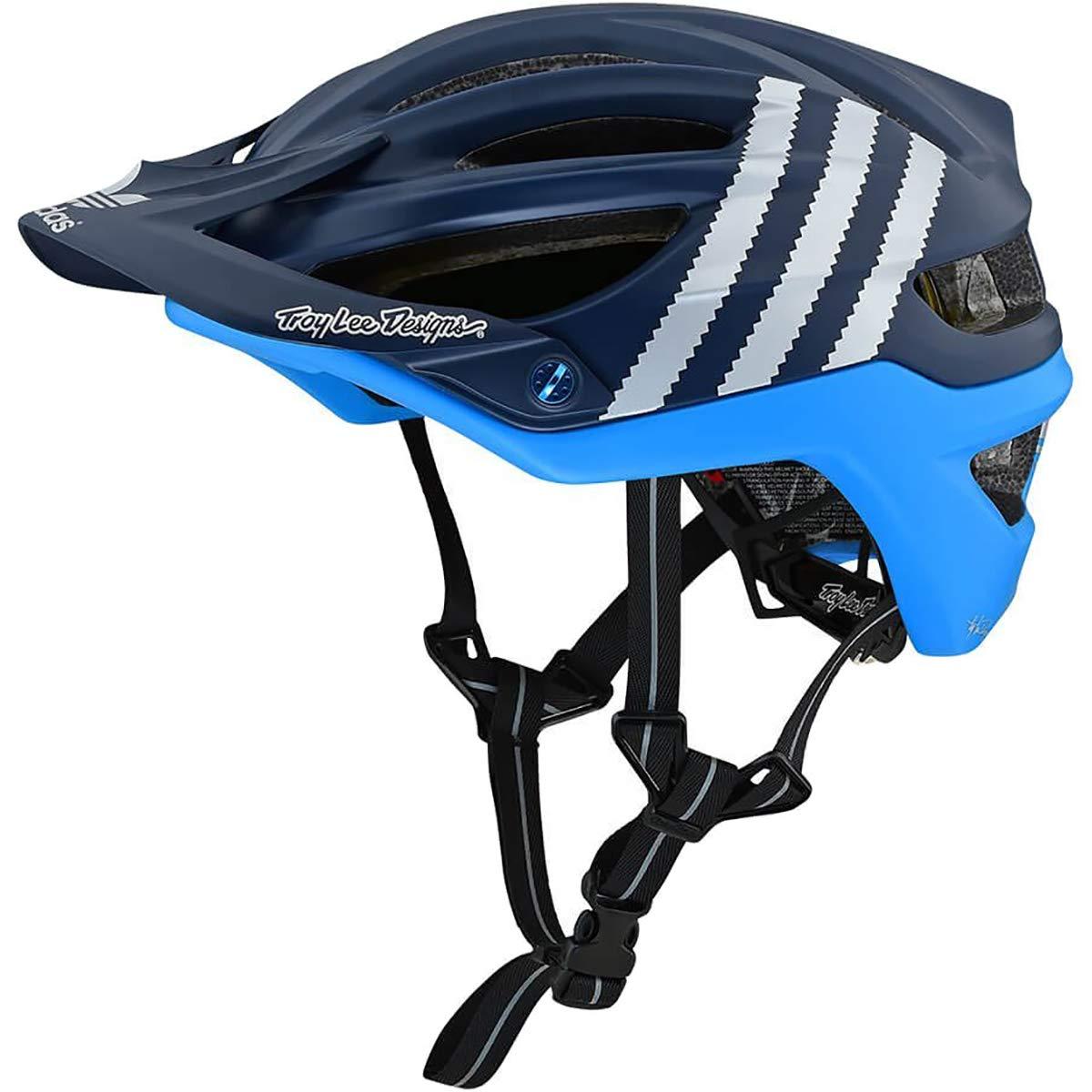 Troy Lee Designs A2 MIPS Helmet Adidas Team Navy/Light Blue, XL/XXL