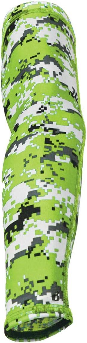 3 Sizes, 31 Digi, Camo, Tie Dye /& Solid Colors Badger Sport Arm Sleeves Performance Compression Moisture Management Dri-Fit