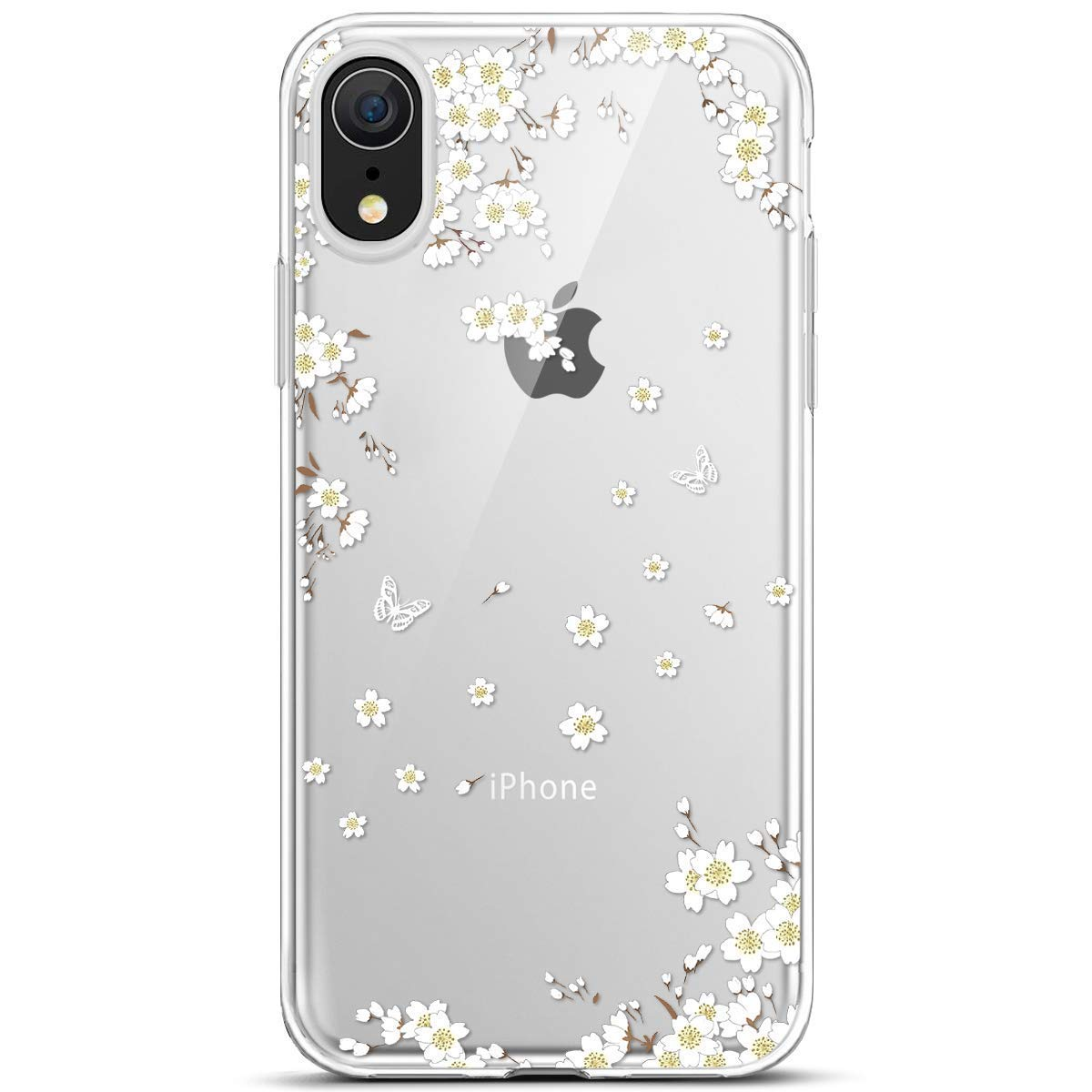 iPhone XR Hü lle, iPhone XR Silikon Hü lle, Ysimee Schutzhü lle Ultradü nn Handyhü lle Transparent Weiche Silikon TPU Rü ckschale Bumper Case Ultra Slim Scratch-Resistant Stoß fest Bumper Cover, Mandala iPhone XR 6.1