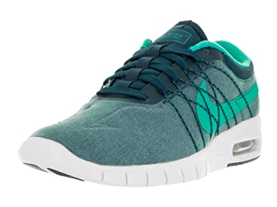 huge discount a674e 7a556 Nike Men s SB Koston Max Skateboarding Shoes Midnight Turq Clear Jade White  8.5 D(