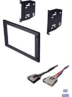 asc car stereo install dash kit and wire harness for installing an  aftermarket double din radio