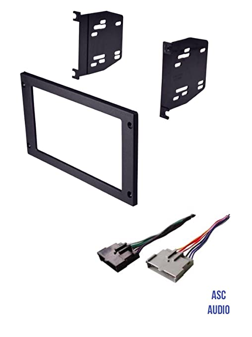 Amazon.com: ASC Car Stereo Install Dash Kit and Wire Harness ... on