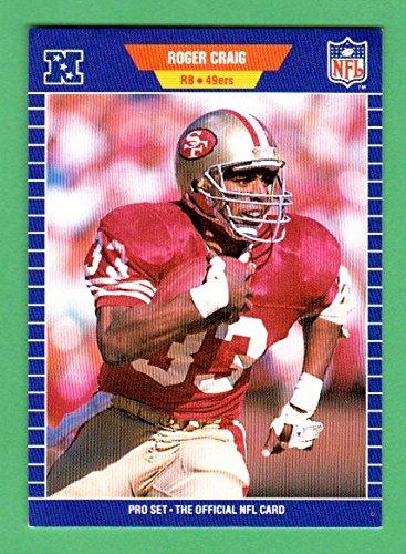 Roger Craig 1989 Pro Set Football (Premier Edition) (49ers Super Bowl Year) ()