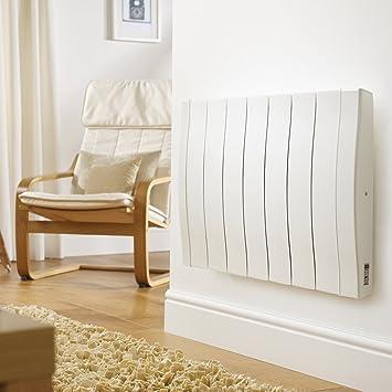 alta inerzia stanze di +//- 8 m/² Radiatore elettrico programmabile in aluminio pressofuso Haverland RC3W uso ideale 1-6 ore//giorno 450W