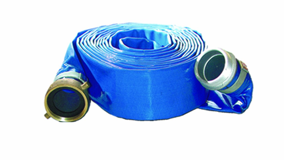 AMT Pump C358-90 Discharge Hose Assembly, PVC, 25 feet Length, 3'' by AMT Pumps (Image #1)