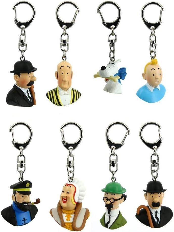 Porte-clé Tintin keyring Buste NESTOR Moulinsart