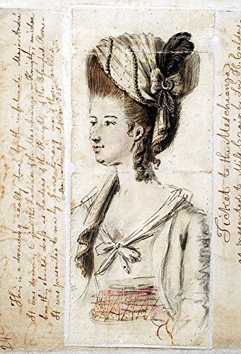 [POSTER [John André Sketch Meschianza Costume 1778 Gift John Fanning Watson 1830 was an extravagant fête] (John Watson Costume)