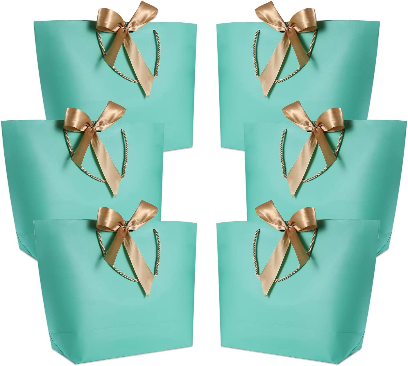 12 x  H23xW18xD9cm..Christmas scene Elf  gift bags with corded handles