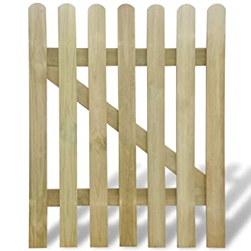 Senluowx Gartentor Aus Holz 100 X 120 Cm Amazonde Garten