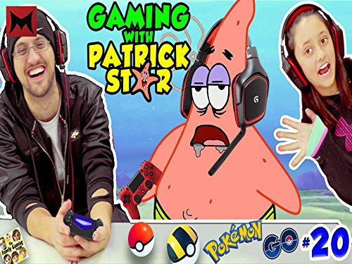 Gaming with Patrick Star (All Pokemon)