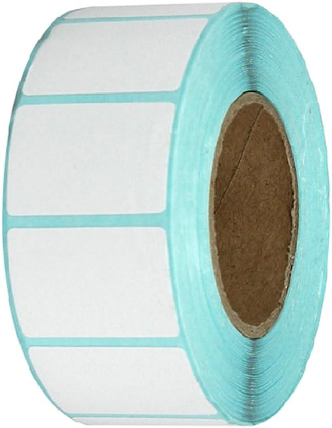 F Fityle /Étiquette Adh/ésive Thermo-adh/ésive Blanche Blanche De 30x20mm /étiquettes-code /à Barres