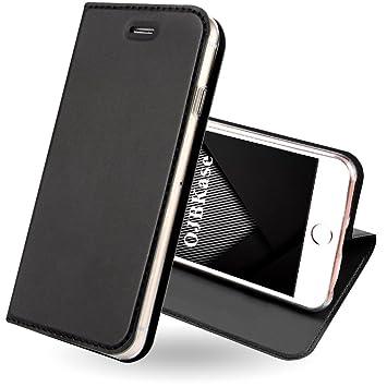 48961335515 OJBKase Funda iPhone 5/5S/SE, Piel sintética Billetera Carcasa Protectora  Cartera y