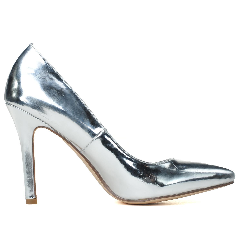 Elobaby Damenhochzeitsschuhe Geschlossene Zehe High Heels Prom On Plattform/Court Toe Plattform/Court On Schuhe / 0608-12 Golden 541a0e