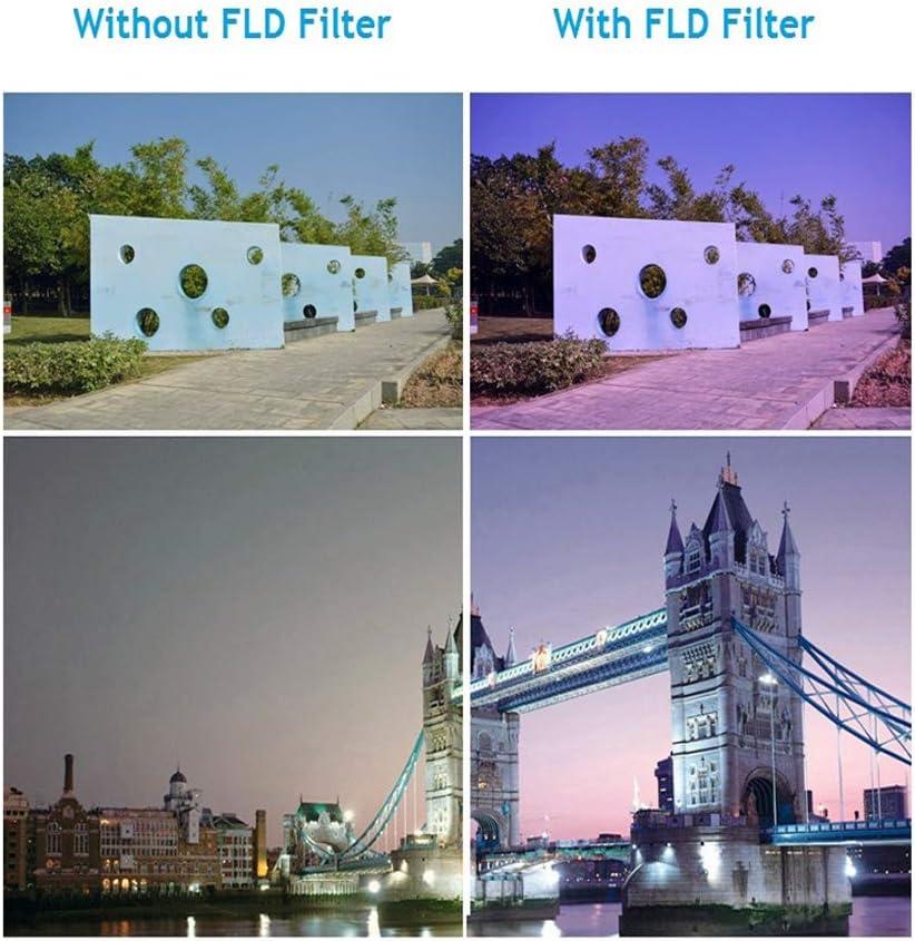 3 in 1 67mm Professional Glass Filter Kit Camera Lens Filters Set UV+CPL+FLD