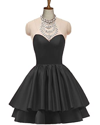 Short Halter Prom Dresses 2018