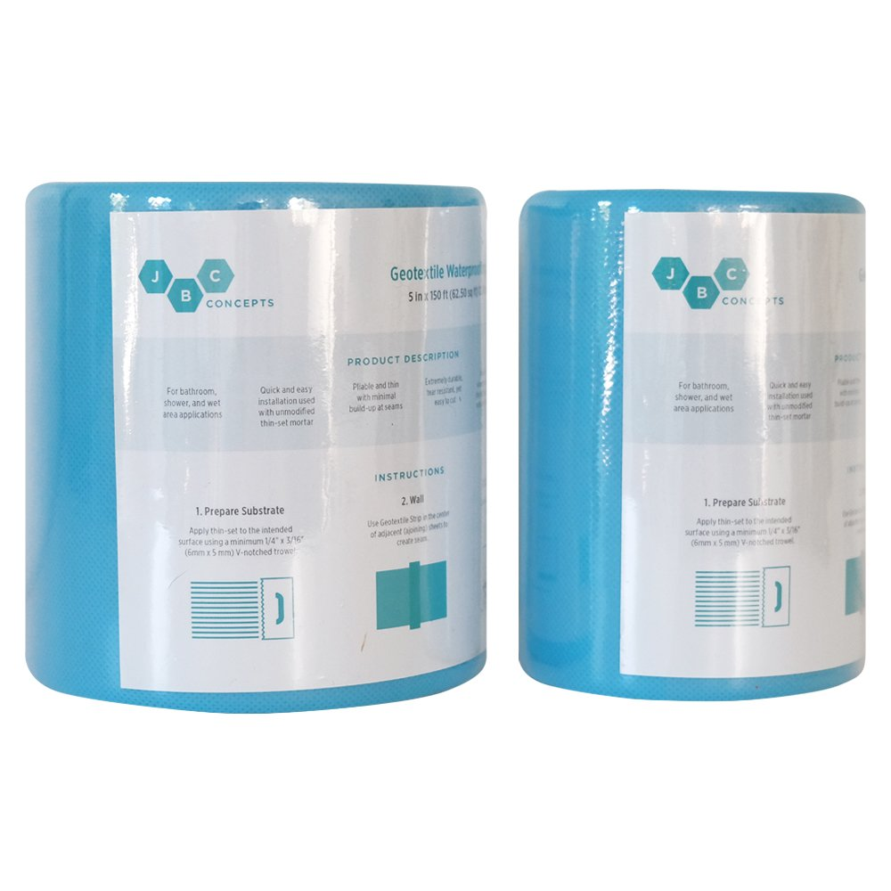 Waterproofing Membrane Strip 5 in x 150 ft (62.5 sq ft) - - Amazon.com