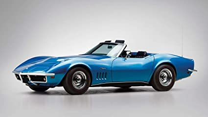 1969 Corvette Stingray >> 1969 Chevrolet Corvette Stingray 427 Convertible V1 Canvas