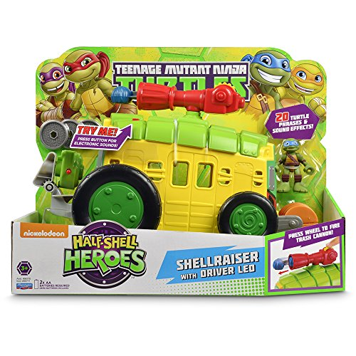 Turtles Half-Shell Heroes Electronic Shellraiser with Leo