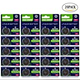 #10: CHAOCHUANG CR2025 3V lithium battery (20-PACK)