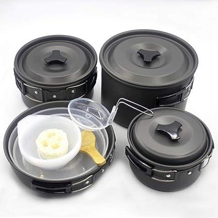 FYHCY Camping Cocina 5-7 Personas Aluminio Mini Kit de ...