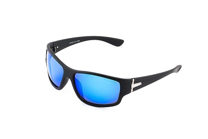 Sunner Gafas de Sol Para Hombre y Mujer Protección UV400 SUP6059 Lentes Polarizadas Montura Ligera Resistente