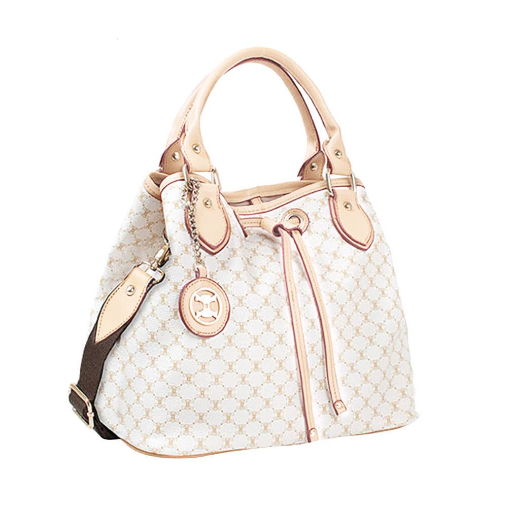 Drawstring Handbag S709 (off-white)