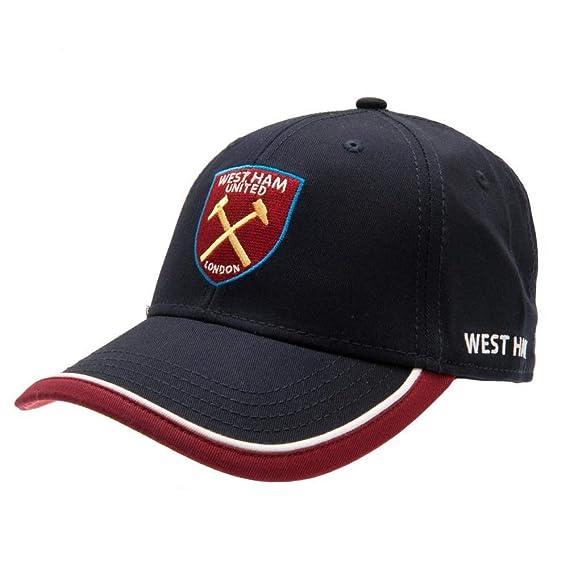 West Ham United FC - Gorra (Talla Única) (Azul Marino ...