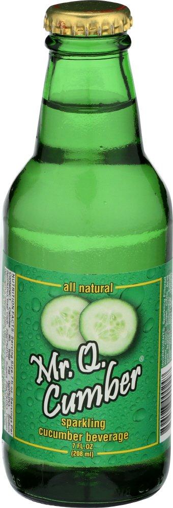 Mr Q Cumber Soda Cucumber, 7 fl oz