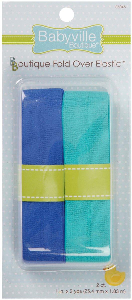 Dritz Babyville Boutique chiusura a elastico, resistente e solido, colore: blu turchese 35045