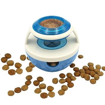 Yunt dispensador de pienso para perro juguete de comida en Poussah para animales domésticos: Amazon.es: Productos para mascotas