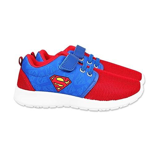 Superman - Zapatillas de Baloncesto para niño