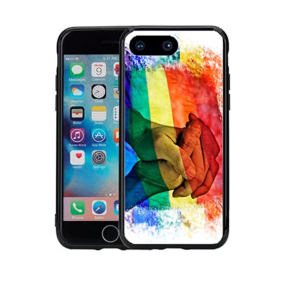 buy online fd550 20c3b Amazon.com: Rainbow Flag Equal Rights for iPhone 7 Plus (2016 ...