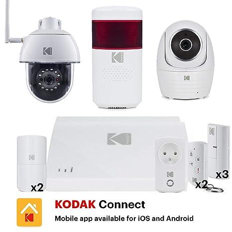Kodak WSP801U - Sistema de Alarma Conectada con Cámara ...