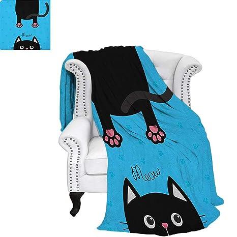 Amazoncom Kawaiifluffy Blanketkawaii Style Hanging Fat Cat Body