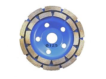Diamant Schleifteller Schleiftopf Schleifscheibe Beton 20 Segmente 125mm