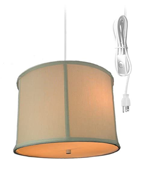 2 light plug in pendant light by home concept hanging swag lamp rh amazon com Swag Lamps Home Depot Swag Lamps Target